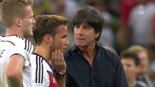 Joachim Löw – Germany v Argentina – extra time 7