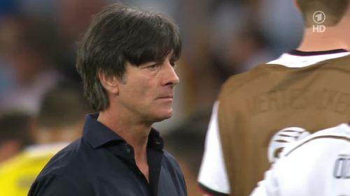 Joachim Löw – Germany v Argentina – extra time 9