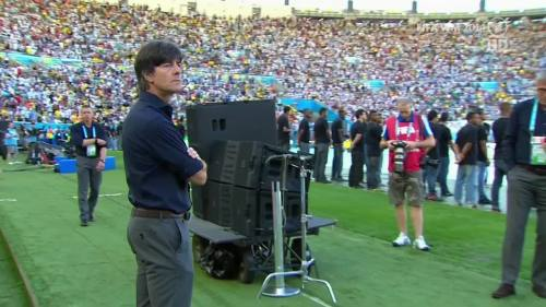 Joachim Löw – Germany v Argentina – pre-match show 45
