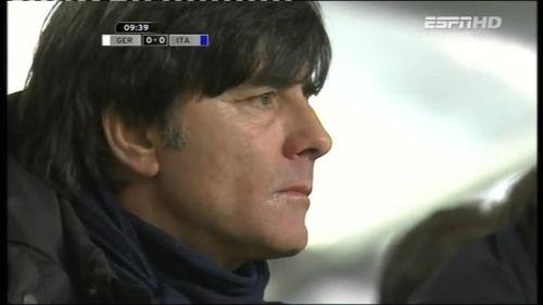 Joachim Löw – Germany v Italy 1