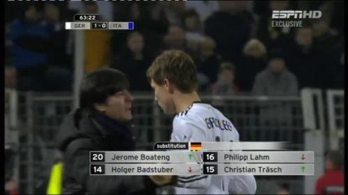 Joachim Löw – Germany v Italy 11