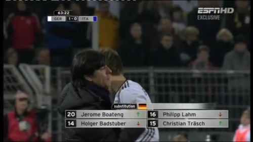 Joachim Löw – Germany v Italy 12