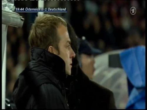 Joachim Löw & Hansi Flick – Austria v Germany 11
