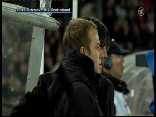 Joachim Löw & Hansi Flick – Austria v Germany 12