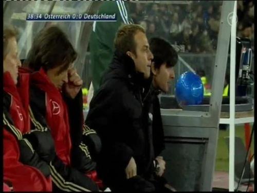 Joachim Löw & Hansi Flick – Austria v Germany 6