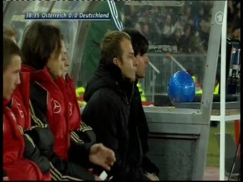 Joachim Löw & Hansi Flick – Austria v Germany 8
