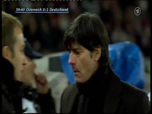 Joachim Löw & Hansi Flick – Austria v Germany 9