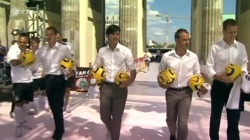 Joachim Löw & Hansi Flick – Brazil v Germany – pre-match show 10