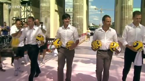Joachim Löw & Hansi Flick – Brazil v Germany – pre-match show 11