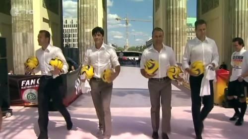 Joachim Löw & Hansi Flick – Brazil v Germany – pre-match show 9