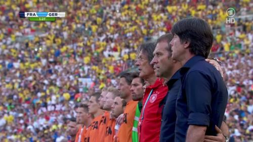 Joachim Löw & Hansi Flick – France v Germany 1