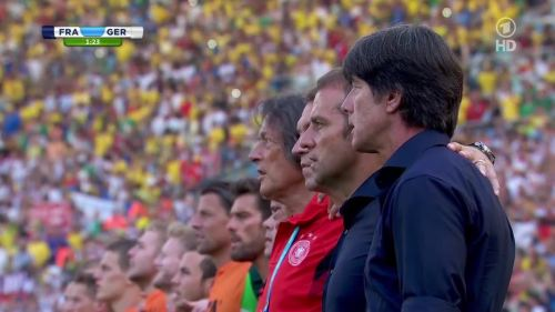 Joachim Löw & Hansi Flick – France v Germany 2