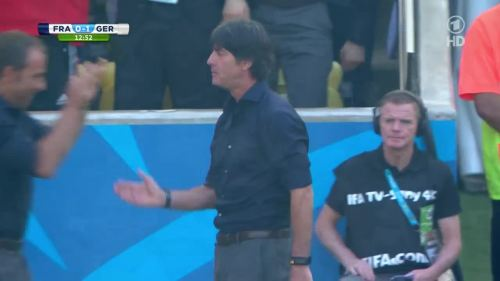 Joachim Löw & Hansi Flick – France v Germany 3