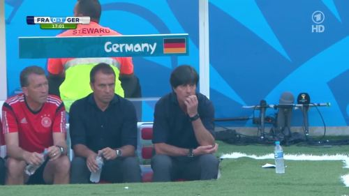 Joachim Löw & Hansi Flick – France v Germany 5