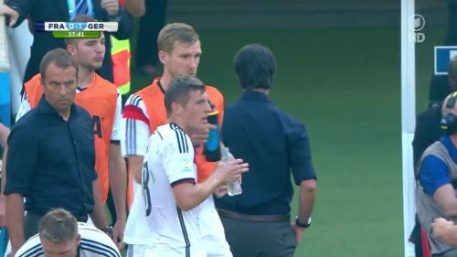 Joachim Löw & Hansi Flick – France v Germany 8