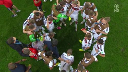 Joachim Löw & Hansi Flick – Germany v Argentina – extra time 1