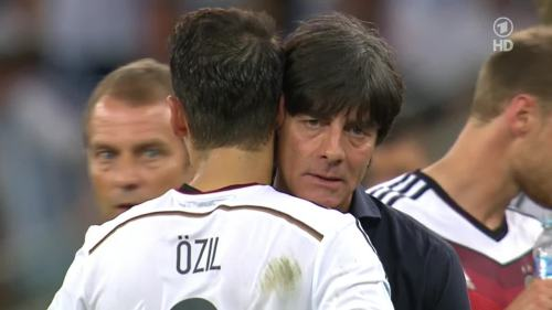Joachim Löw & Hansi Flick – Germany v Argentina – extra time 10