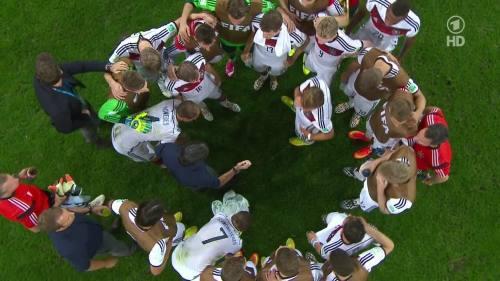 Joachim Löw & Hansi Flick – Germany v Argentina – extra time 2