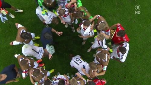 Joachim Löw & Hansi Flick – Germany v Argentina – extra time 3