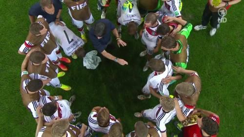 Joachim Löw & Hansi Flick – Germany v Argentina – extra time 4