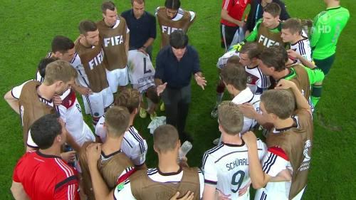 Joachim Löw & Hansi Flick – Germany v Argentina – extra time 7