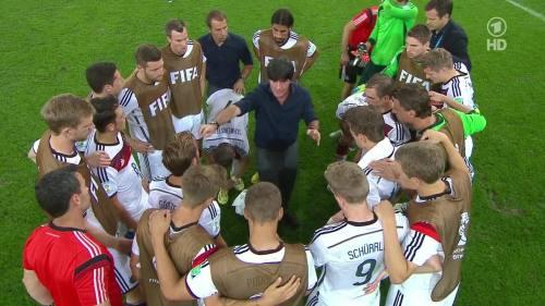 Joachim Löw & Hansi Flick – Germany v Argentina – extra time 8