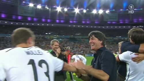 Joachim Löw & Hansi Flick – Germany v Argentina – post-match show 1