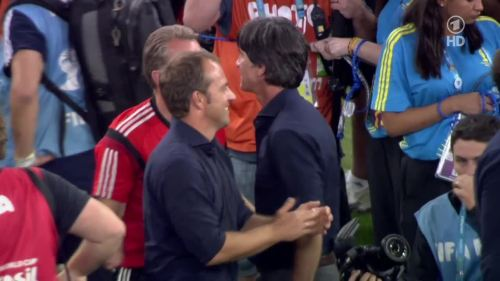 Joachim Löw & Hansi Flick – Germany v Argentina – post-match show 11