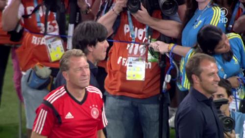 Joachim Löw & Hansi Flick – Germany v Argentina – post-match show 12