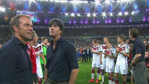 Joachim Löw & Hansi Flick – Germany v Argentina – post-match show 13