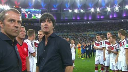 Joachim Löw & Hansi Flick – Germany v Argentina – post-match show 15