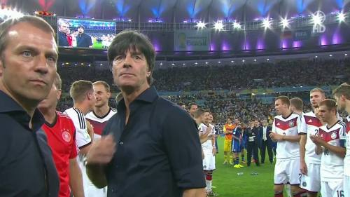Joachim Löw & Hansi Flick – Germany v Argentina – post-match show 16