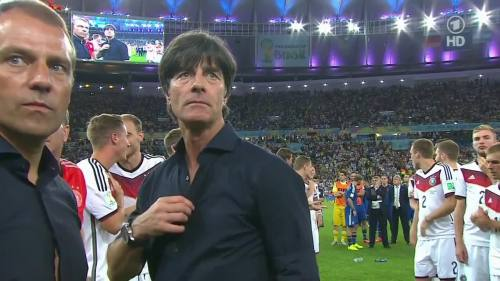 Joachim Löw & Hansi Flick – Germany v Argentina – post-match show 17