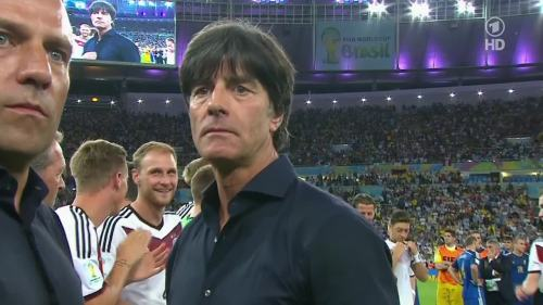 Joachim Löw & Hansi Flick – Germany v Argentina – post-match show 18
