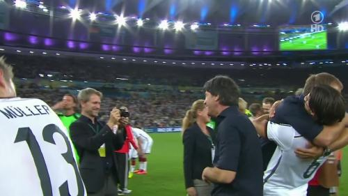 Joachim Löw & Hansi Flick – Germany v Argentina – post-match show 2