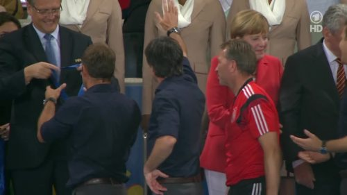 Joachim Löw & Hansi Flick – Germany v Argentina – post-match show 21
