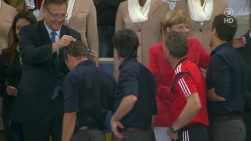 Joachim Löw & Hansi Flick – Germany v Argentina – post-match show 22