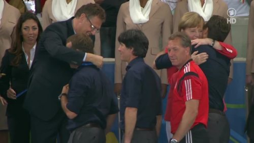 Joachim Löw & Hansi Flick – Germany v Argentina – post-match show 23