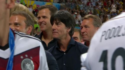 Joachim Löw & Hansi Flick – Germany v Argentina – post-match show 24