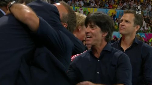 Joachim Löw & Hansi Flick – Germany v Argentina – post-match show 25