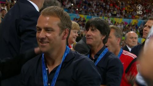 Joachim Löw & Hansi Flick – Germany v Argentina – post-match show 26