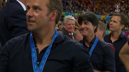 Joachim Löw & Hansi Flick – Germany v Argentina – post-match show 27