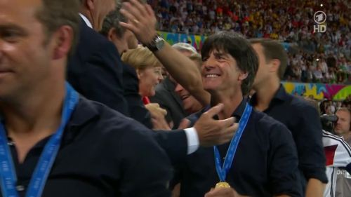 Joachim Löw & Hansi Flick – Germany v Argentina – post-match show 28