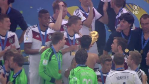 Joachim Löw & Hansi Flick – Germany v Argentina – post-match show 32