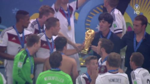 Joachim Löw & Hansi Flick – Germany v Argentina – post-match show 33