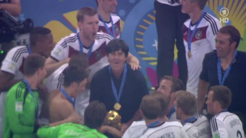 Joachim Löw & Hansi Flick – Germany v Argentina – post-match show 34