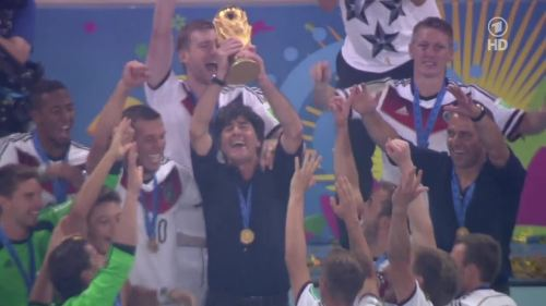 Joachim Löw & Hansi Flick – Germany v Argentina – post-match show 36