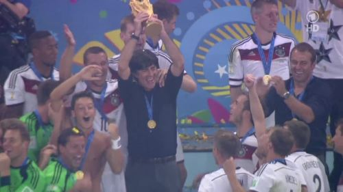 Joachim Löw & Hansi Flick – Germany v Argentina – post-match show 37