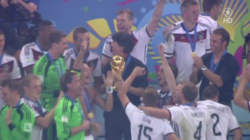 Joachim Löw & Hansi Flick – Germany v Argentina – post-match show 38