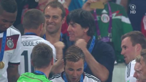 Joachim Löw & Hansi Flick – Germany v Argentina – post-match show 39
